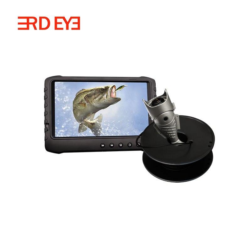 Full HD 2MP podwodny lokalizator ryb kamera wideo połowów lodu (12 sztuk światła ir kąt 170 stopni)