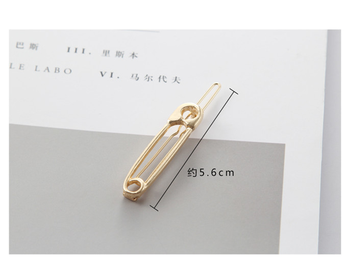 New Fashion Europe And The United States Accesorios Para El Pelo Simple Metal Pin Hairpin Girls Vintage Gold Color Hairpin Back To Search Resultsjewelry & Accessories Jewelry Sets & More