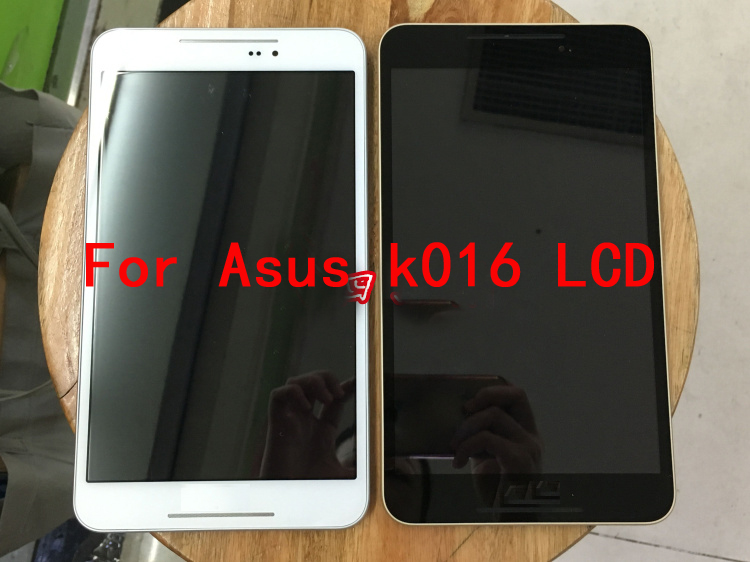 For Asus Fonepad 8 K016 FE380CG FE8030CX LCD Display + Touch Screen Digitizer Glass Assembly With Frame By Free Shipping