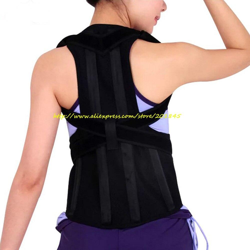 Unisex Adjustable Posture Corrector Corst Back Men Brace Shoulder Belt Lumbar Support Straight Correction For Health Care