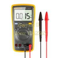 FLUKE 15B 4000 Counts AC DC Voltage Current Capacitance Ohm Auto Manual Range Digital Multimeter Meter