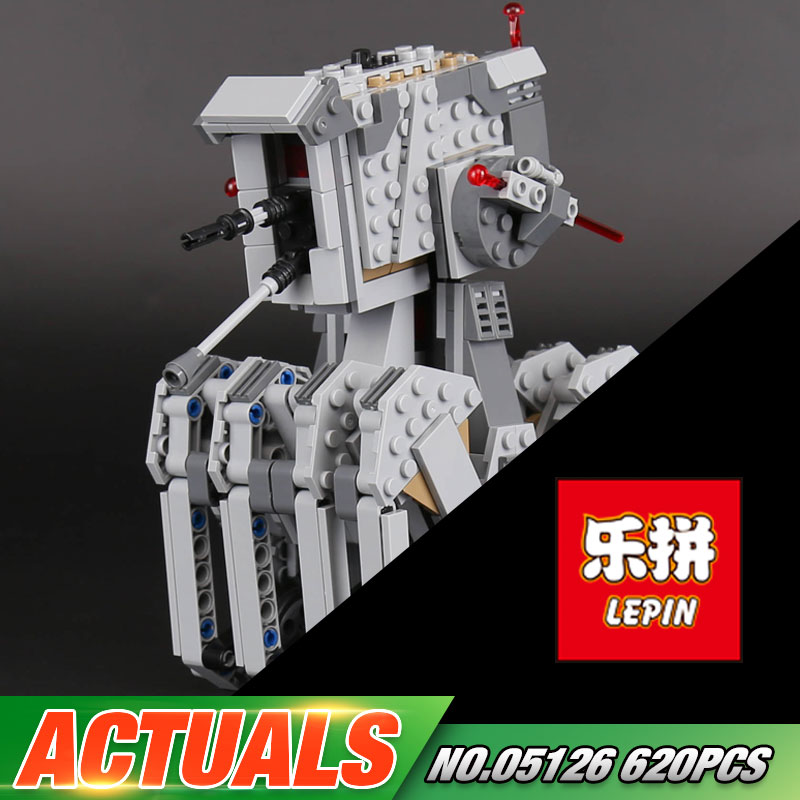 Lepin 05126 Genuine 620Pcs Star Plan Series The First order scout walker Set 75177 Building Blocks Bricks Educational Toys Gifts
