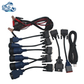 Full Set Cables for NEXIQ 125032 USB Link Truck Diagnostic Tool,OBD2 Diagnostic cable for NEXIQ