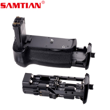 SAMTIAN Battery Grip Holder ABS Work with LP-E6 Battery or 6 Items AA Batteries for Canon EOS 6D DSLR Digicam