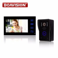 2 4G 7 TFT Wireless Video Door Phone Intercom Doorbell Home Security Camera Monitor Color Video