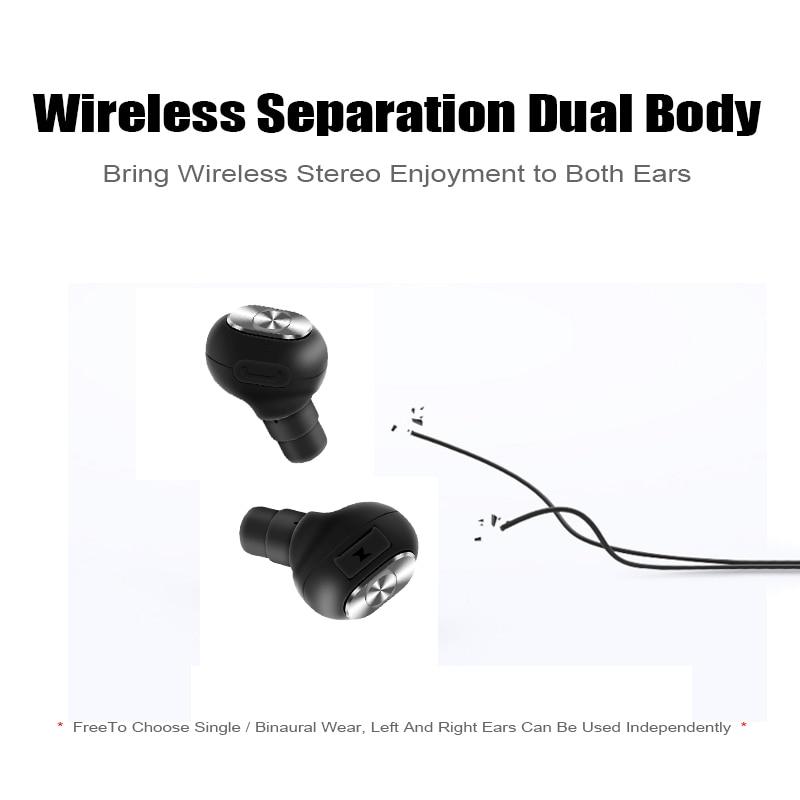 M&J Capsule Wireless TWS Earbuds Bluetooth Earphone With Mic And Deep Bass 2