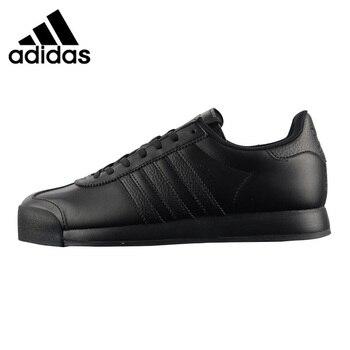 watch 97f49 2ee05 Adidas Originals Samoa zapatos de los hombres negro blanco ligero y  resistente a la abrasión transpirable AQ7917 B27576