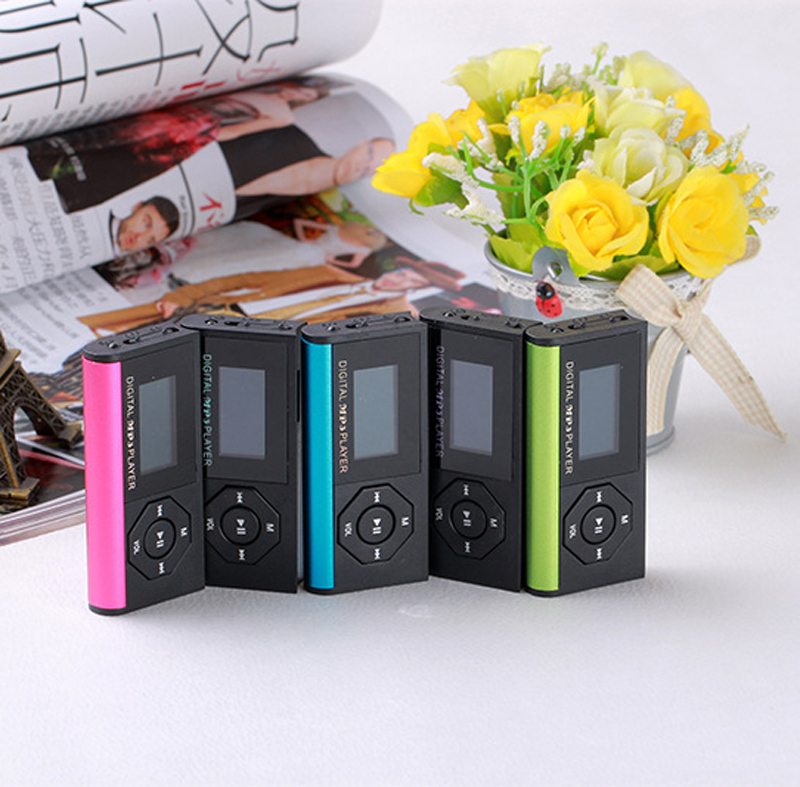 3PCS USB MP3 Player Micro SD TF Card Music Media Mini Mp3 Support 32Gb music Player Digital Music Player With Screen