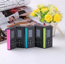 USB MP3 Player Micro SD TF Card Music Media Mini Mp3 Support 32Gb music Player Digital Music Player With Screen