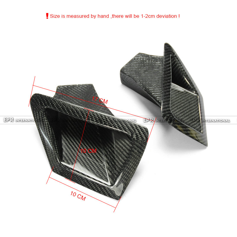 370Z Z34 Front Bumper duct set CF(1)_1