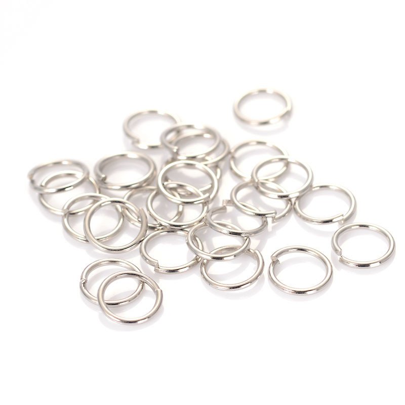CHOOSE SIZE Gold Plated Jump Rings Open Jewelry Supplies