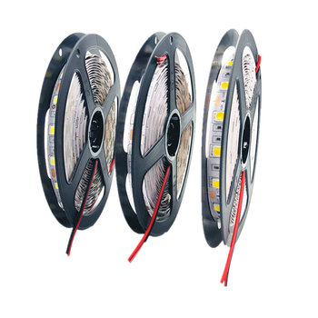 цена на LED Strip 5050 RGB lights 12V Flexible Home Decoration Lighting SMD 5050 Waterproof LED Tape RGB/White/Warm White/Blue/Green/Red