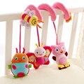 Bebê recém-nascido Chocalhos Música Infantil Brinquedos Educativos Bonito Espiral Atividade Stroller Assento de Carro Berço Torno Pendurado Brinquedos Viagem Babyplay