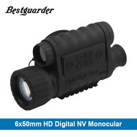 Bestguarder 6x50mm HD Digital Night Vision Monocular With 1 5 Inch TFT LCD Camera Camcorder Function