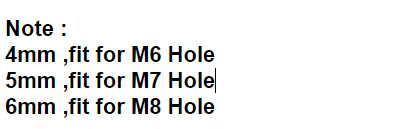 20 写真ファスナーリベットフェアリングボディトリムパネルファスナーねじクリップ 4 ミリメートル 5 ミリメートル 6 ミリメートル Bmw R1200GS ホンダ CRF1000L の冒険