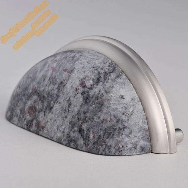 76mm Granit Zink legierung Cabinet Hardware, Indian Blue Tasse Pull ...