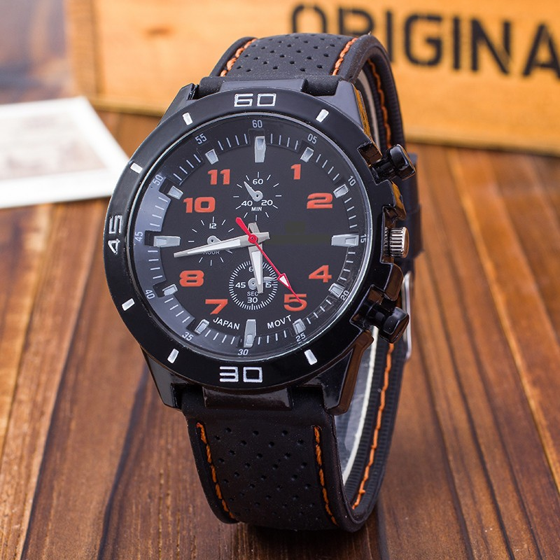 Cheap Relogio Masculino Outdoor Casual Men Brand Army Military Sports Watches Men Silicone Quartz Wrist Watch Clock Reloj Hombre
