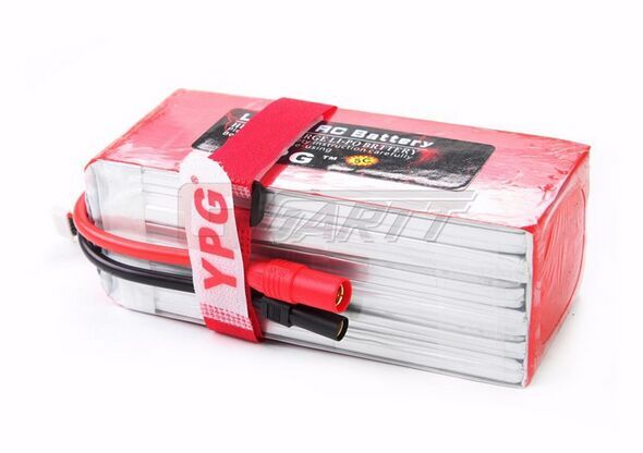 YPG 10000MAH 22.2V 25C <font><b>6S</b></font> Grade A <font><b>Lipo</b></font> Li-poly Battery For RC Airplane Drone Multicopter Octocopter image