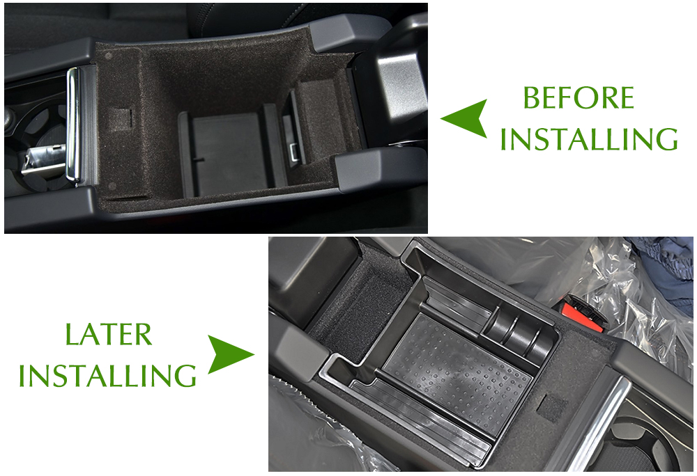 Image 4 - Central Storage Pallet Inside Armrest Container Box For Volvo XC60 S60 V60 Car styling-in Car Stickers from Automobiles & Motorcycles