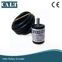 CALT mini 18mm incremental hall encoder 3v 5v 256 1024 p/r resolution measuring angle sensor voltage output HPE18