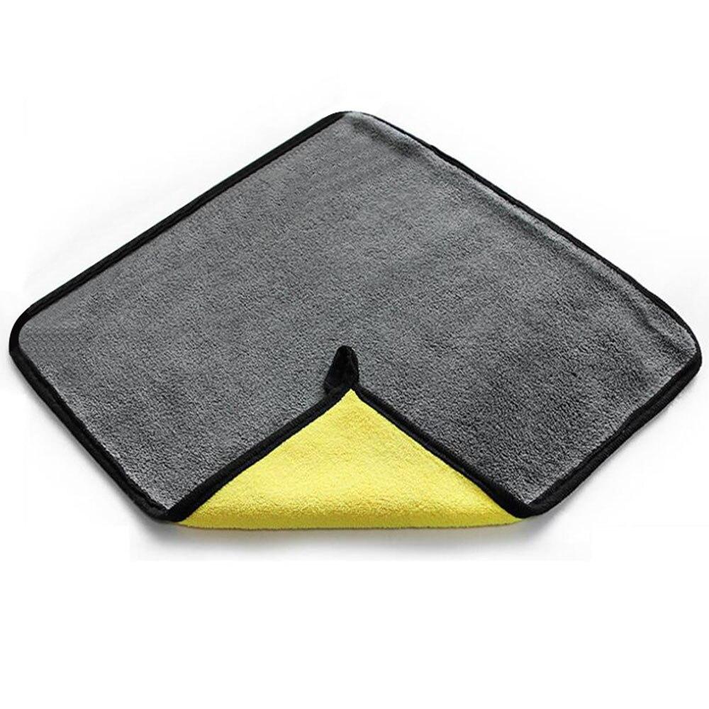 Vehemo 30x30 см автомобили очистки полотенце тряпка инструмент для очистки универсальный автомобильный дома ткань для мытья автомобиля Автомойка сушки
