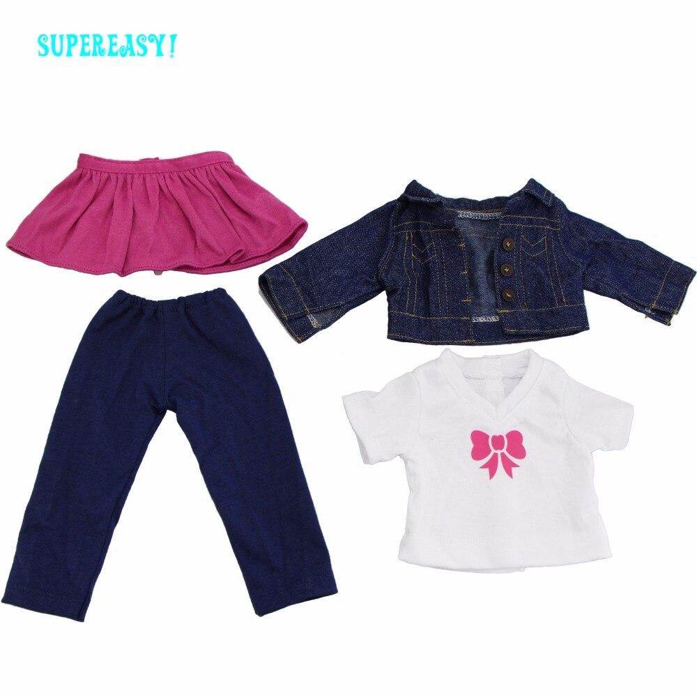 Bonecas mini vestido saia rosa + Tipo Pacote : 1x Outfit