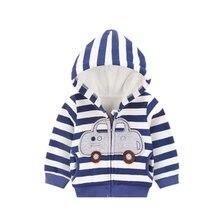 Baby Zip Cardigan Kids Cotton Long Sleeve Infant Jacket Baby Outerwear Coat Kleding Infant Children Jacket Baby Clothing 50D098B