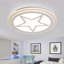 Dla dzieci oświetlenie pokoju kapitan ameryka akrylowe lampy sufitowe dziecko sypialnia Cartoon 42/52/62cm dla domu w salonie lampa dekoracyjna