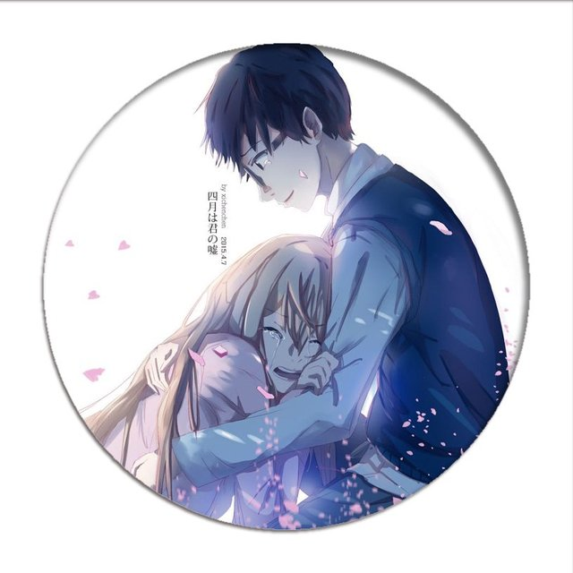 Your Lie in April Cosplay Badge