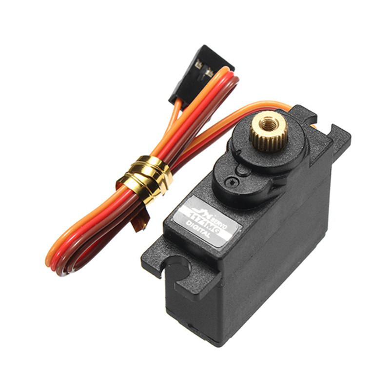 New Arrival JX PDI-1171MG 17g Metal Gear Core Motor Micro Digital Servo for RC Models