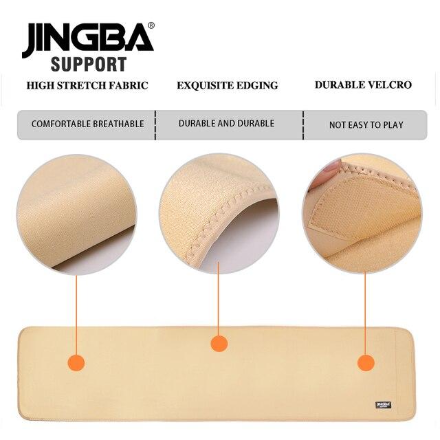 JINGBA SUPPORT Waist trimmer Slim fit Abdominal Waist sweat belt musculation abdominale Back Waist Support sport belt protective 4