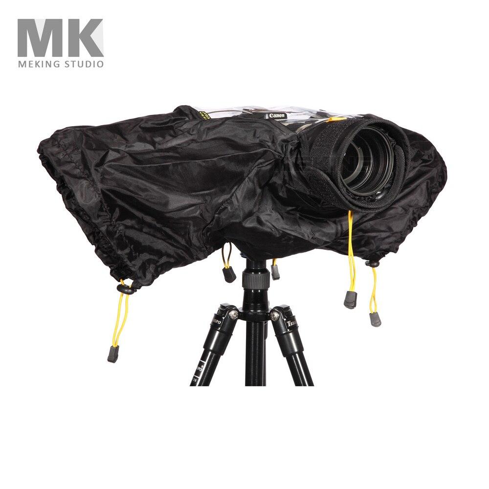 Professional Camera Rain Cover Protector case bag for Canon Nikon DSLR camera Middle Size