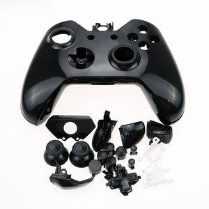 Image 5 - 玉渓 Xbox の 1 交換用クロームフルシェルとボタン Mod キットマットコントローラカスタムカバーハウジング