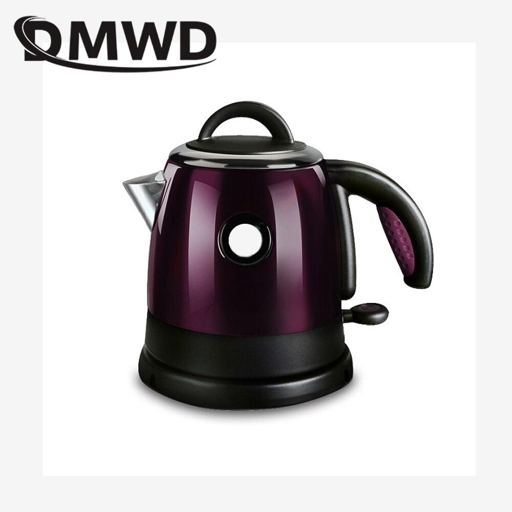 Color : Purple Bollitore Elettrico in Acciaio Inox 1.8L 1500W di spegnimento Automatico Rapida Acqua Calda Caldaia Tea Pot Boiling riscaldatore della Spina degli Stati Uniti