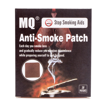 MQ Brand Anti Smoke Patch 30 Pieces/Box Smoking Cessation Pad 100% Natural Herbal Stop Smoke Patch Health Care Product