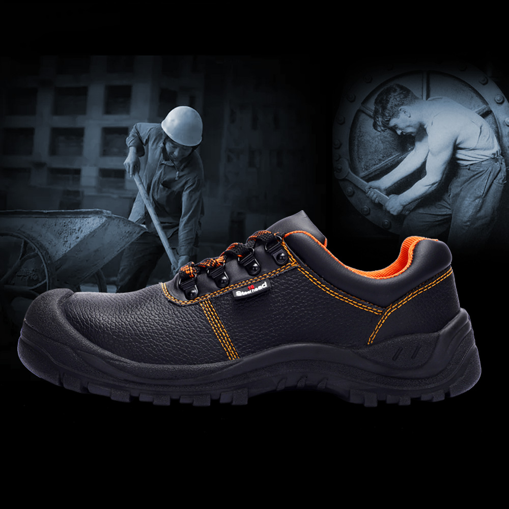 Men's Safety Shoes Steel Toe Working Safety Shoes For Men Fashion Hiking Sneaker Shock Proof Puncture Proof Non-Slip Footwear 5