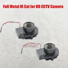 8mp 12mp metal completo filtro de corte ir para 2mp 5mp alta qualidade cctv câmera ip módulo acessórios m12 * 0.5 mtv montagem lente