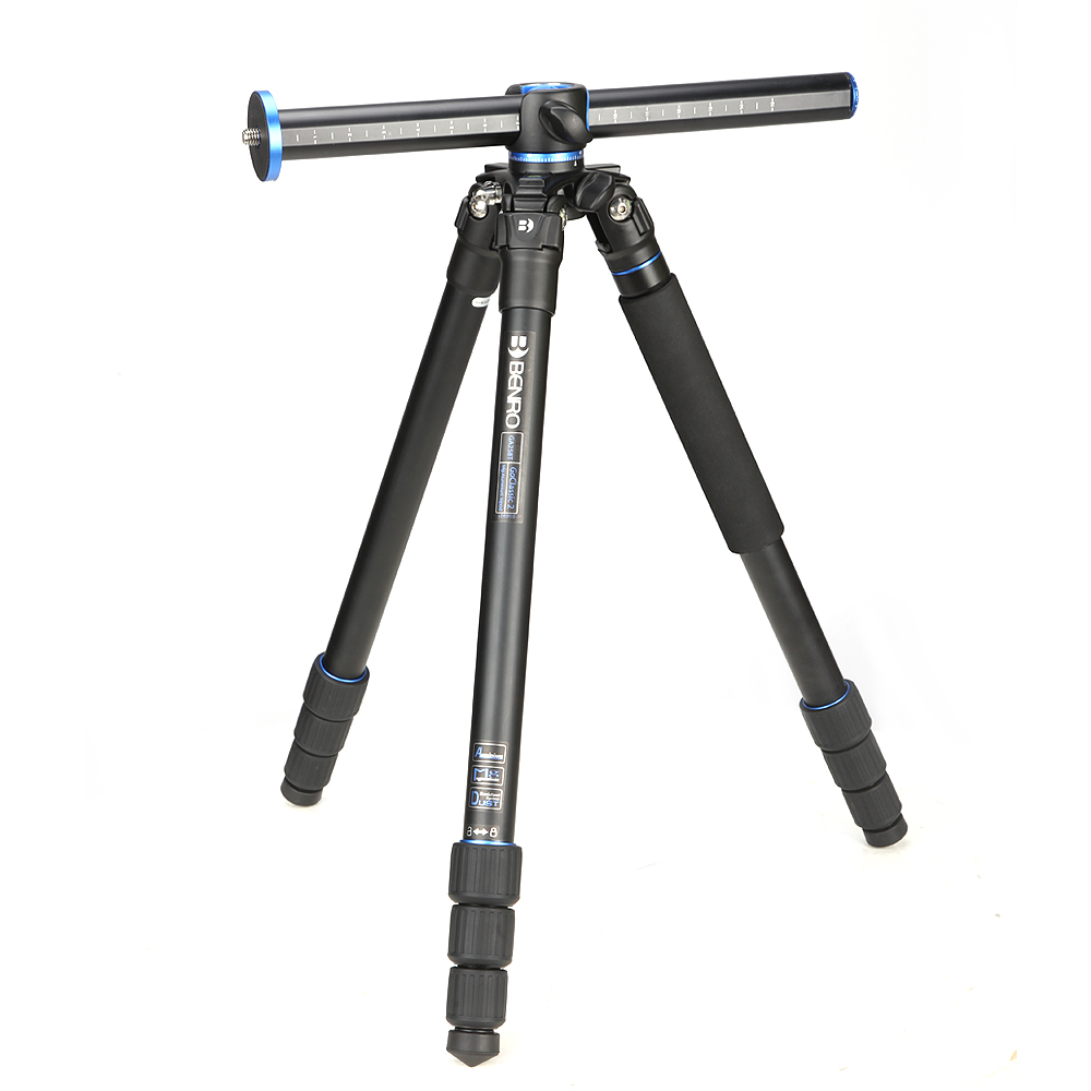 BENRO GA258T Tripod Carbon Fiber Professional Tripod Monopod For DSLR Camera Portable Camera Stand in Tripods from Consumer Electronics
