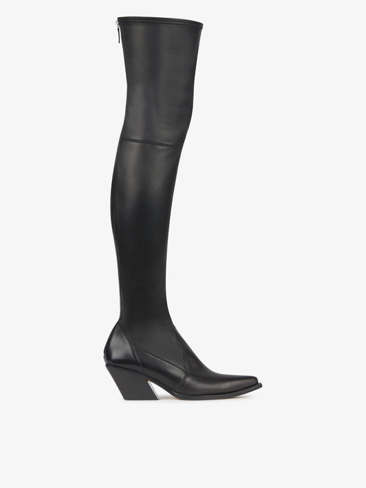 2018 Winter Boots Women New Style Elastic Thigh High Long Boots Genuine Leather Over-the-knee Motorcycle Boots Shoes Woman Bota women s winter platform flats over the knee boots brand designer genuine suede leather patchwork elastic long boots shoes women