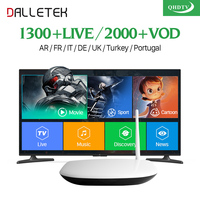 Free Shipping Hot Sale Android French Arabic IPTV Box Free 1 Year 680 HD Live TV