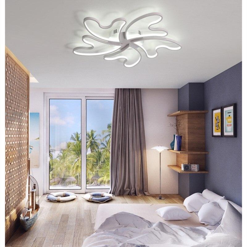 Romantic creative personality Bedroom lamp warm ceiling ...
