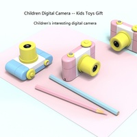 NEW Mini Children Digital Camera for Kids Baby Cute Cartoon Multifunction Toy Camera Birthday Best Gift for Kids Boys Girls