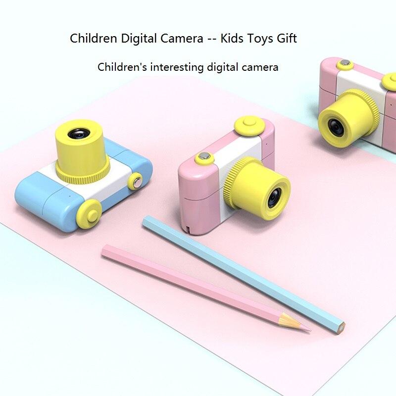 Nouveau Mini enfants appareil photo numérique pour enfants bébé dessin animé mignon multifonction jouet appareil photo anniversaire meilleur cadeau pour enfants garçons filles