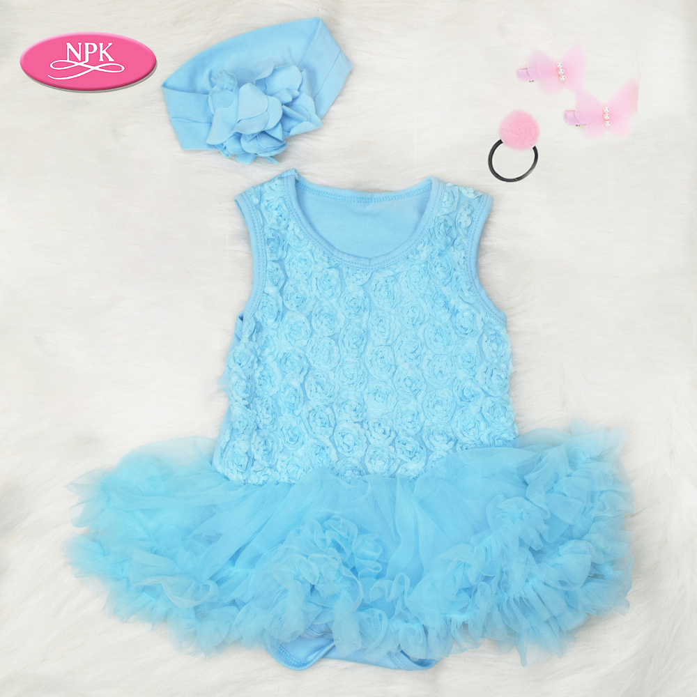 """22/"""" Bebe Reborn Baby Girl Doll Clothes Newborn clothing set Not Included Doll"""