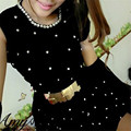 Accesorios Del Vestido de Dama de La Moda de Ancho Cinturón Ancho Elástico Del Estiramiento Coolbeenr Dec9