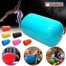 4 типа 7 цветов надувные Airtrack домашний ролик маленький Airtrack гимнастический мат цилиндр тренажерный зал обучение