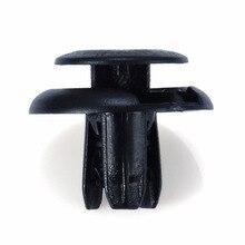 цена на MAYITR 20PCS Black Splash Shield Clip Push Type Fastener Retainer Pin Clips for Mazda 2 3 5 6 Suzuki Aerio Equator Esteem
