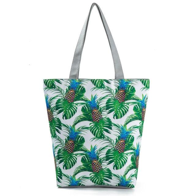 Miyahouse  Eco Reusable Foldable Women's Shoulder Shopping Bag Ladies Casual Tote Bag Female's Handbag With Large Capacity 1
