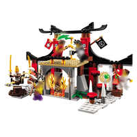 Ninjago 10319 Duel Ninjutsu gamme de conduite kits de construction de modèles compatibles avec e ninjagoes jouets éducatifs pour les enfants