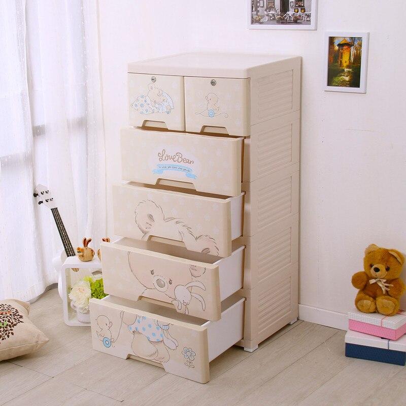Новый большой органайзер для хранения Контейнер ящик для хранения пластиковый ящик для одежды и разное аксессуары